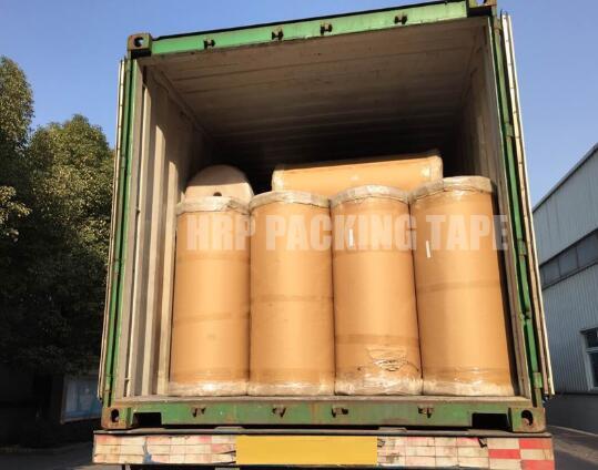 We manufacture BOPP adhesive tape jumbo roll