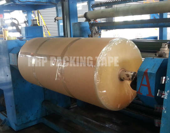 Historical Origin Of Self Adhesive Tape Jumbo Roll