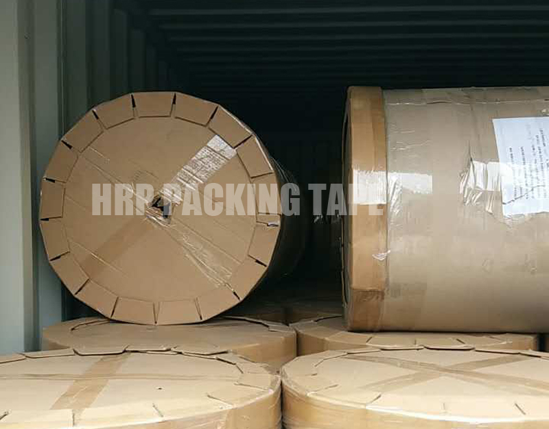 Storage And Initial Adhesion Of Packing Box Tape