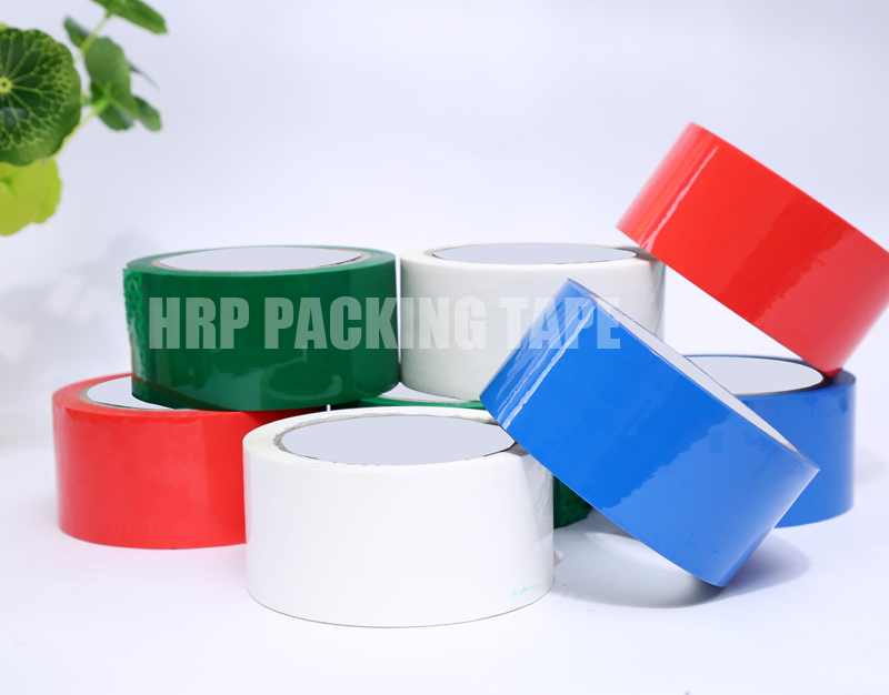 Colored shipping tape