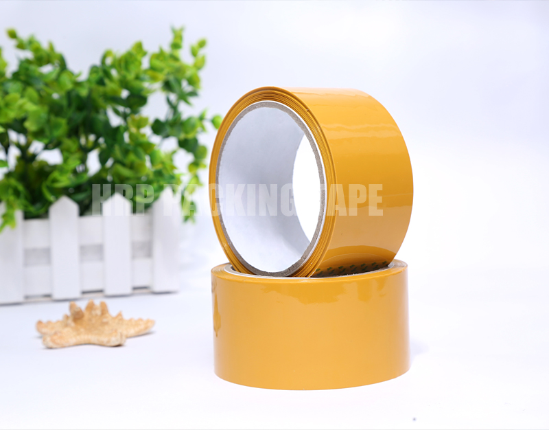 Adhesive tape brown color