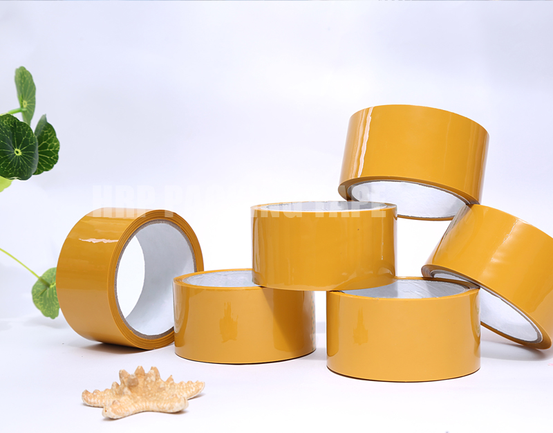 Tan packaging tape