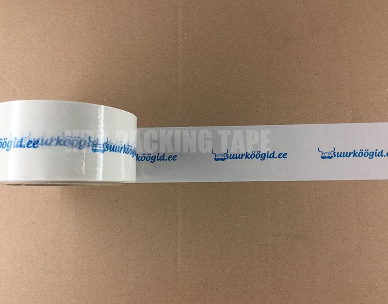 Logo packing tape