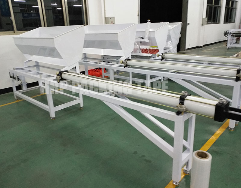 Loading machine for paper core