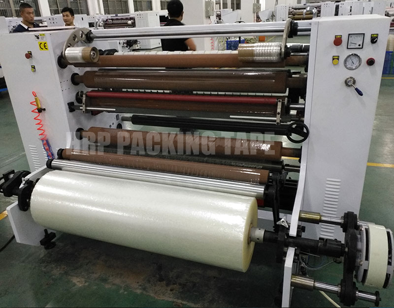 Full-Automatic four-shaft exchange adhesive tape cutting machine