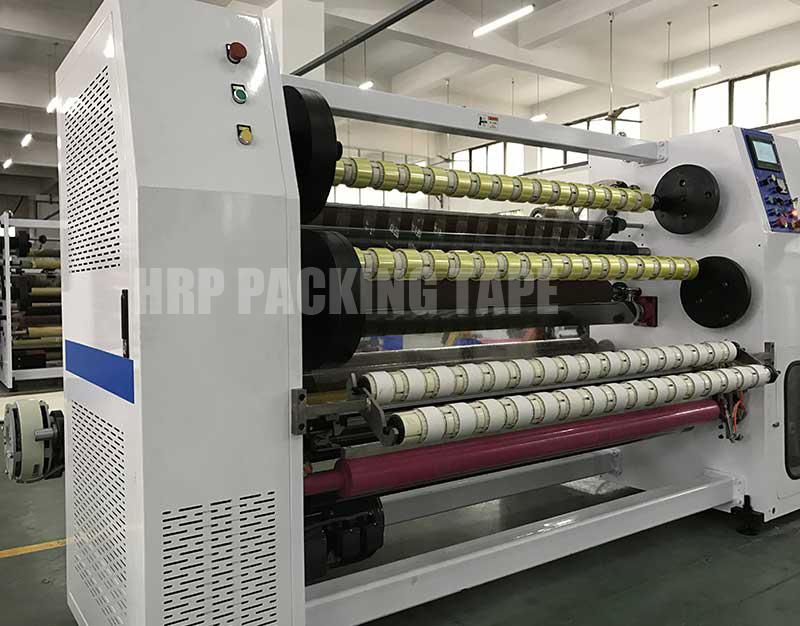 BOPP Adhesive Tape Jumbo Roll Cutting Machine