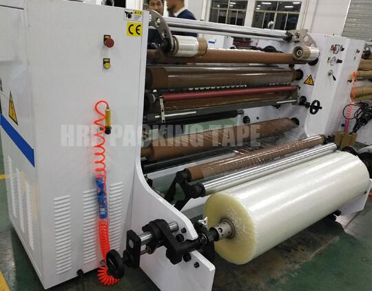 Applications of BOPP adhesive tape jumbo roll cutting machine